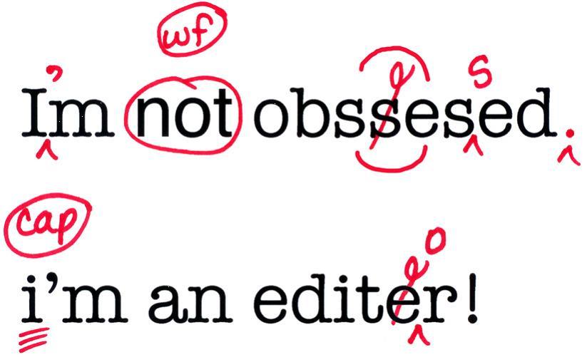 Copy editor