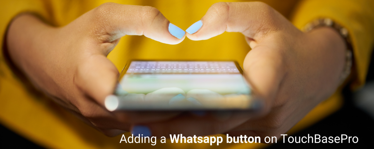 TouchBasePro Whatsapp