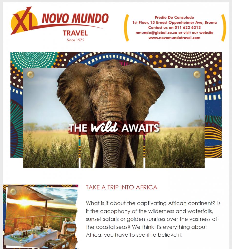 TouchBasePro Novo Mundo Campaign